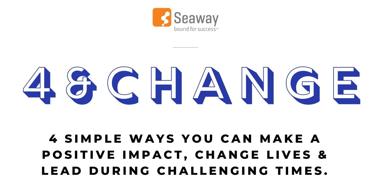 4 Simple Ways To Make a Positive Impact During Challenging Times