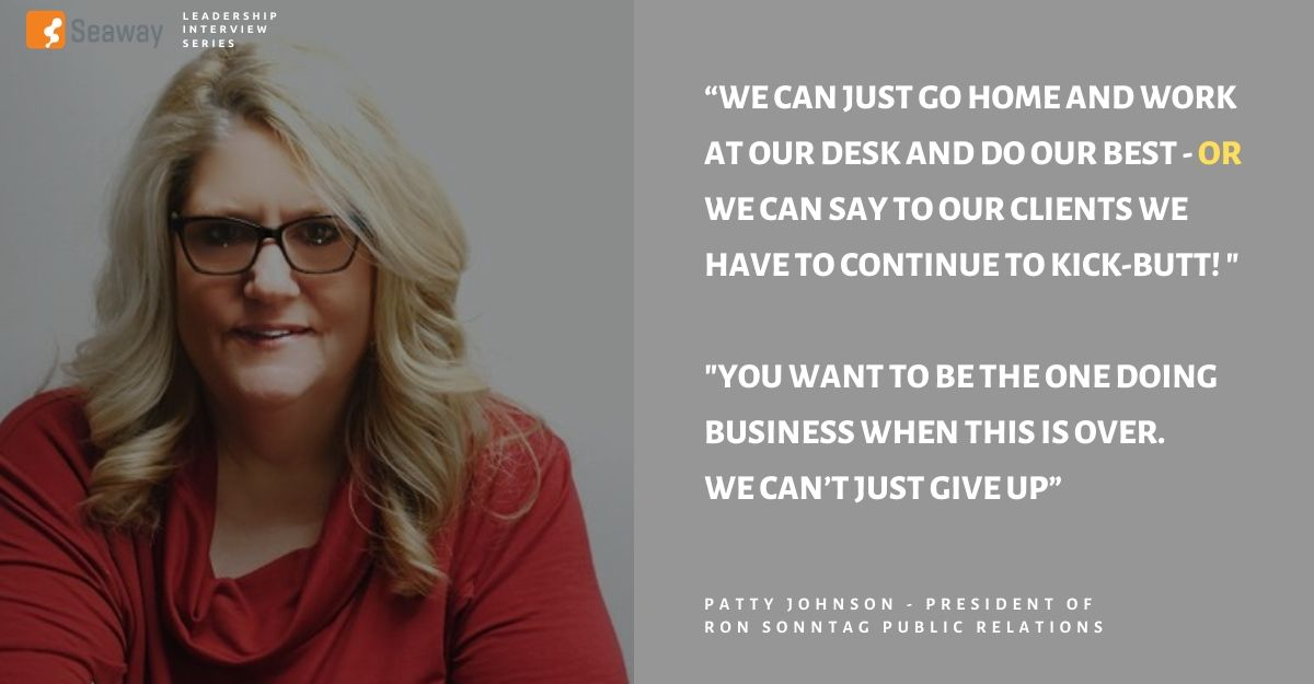 Patty Johnson, Publishing & Public Relations Leader, Talks About Facing Challenges Head On & Always Being There For Your Clients