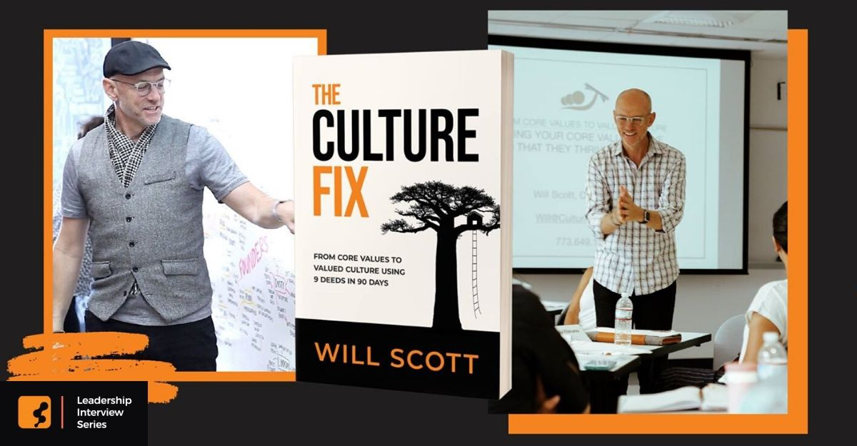 Inspire your team to love where they work and why they work! Our interview with Will Scott of Culture Czars