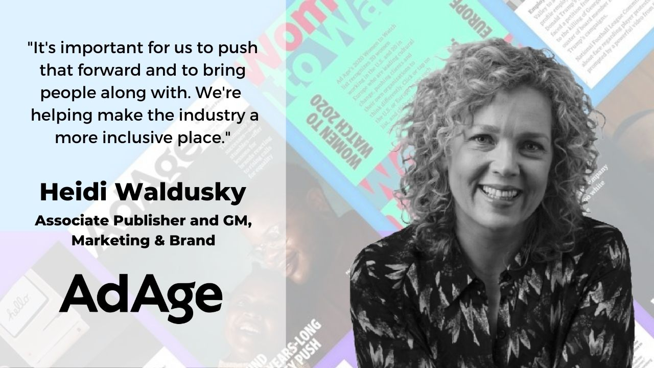 How to Make a Difference and Responsibly Lead by Example with Heidi Waldusky of Ad Age